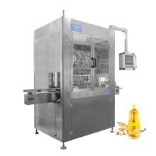 Water Honey Sauce Hand Sanitizer Gel Engine Edible Oil Filler Piston Plastic Glass Bottle  Filling Machine