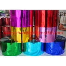 0.03-0.5mm espesor de la película de PVC metalizado con calidad superior