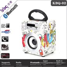 FM Radio USB SD Card Reader Portable sound box Speaker