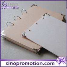 Anel Espiral Chinês de Capa Dura Barata para Notebook