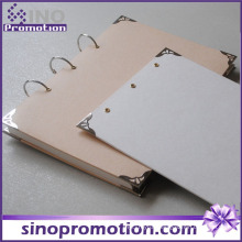 Fashion Cheap Hardcover Chinese Spiral Notebook with Dividers