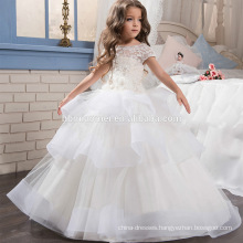 New hot white Ball Gown Flower Girl Dresses First Communion Dresses For Girls vestidos de comunion Princess Dress