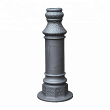 Supply aluminum alloy sand casting lamp pole by sand casting