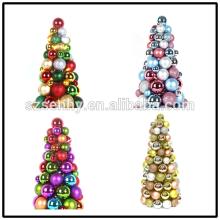 Небьющиеся Рождественские Мяч Орнамент Столешница Дерево Конус