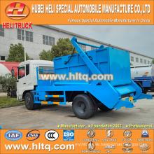 4x2 10cbm DONGFENG tianjin 190hp Schwingenarm Müllwagen / Container Hakenlift Müllwagen Müll LKW neues Modell gute Qualität