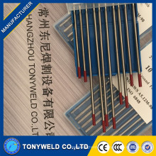 Hot Sales Good 4.8 * 150mm Soldadura Tungsteno Electrodos / Varas de Soldadura Tig WT20