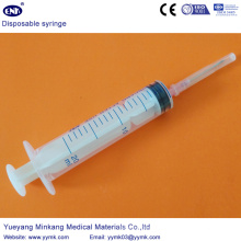 Одноразовый стерильный шприц с иглой 20мл (ЕНК-ДС-058)