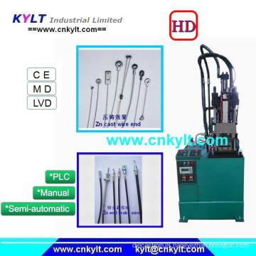 Vertical Zinc Die Casting Machine for Motorcycle/Automotive Accelerator Cable Wire