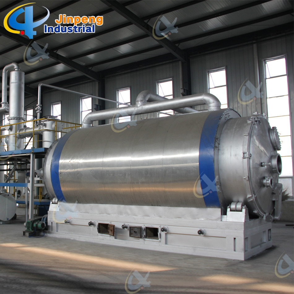 Used Rubber Pyrolysis Machine to Oil