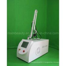 Machine laser laser fractionnée portable de suppression des cicatrices