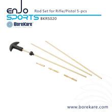 Охотничье ружье Borekare для чистки 5-PCS Rifle / Pistol Rod Set