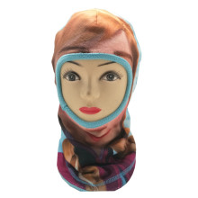2019 new fashion polar fleece custom print logo face mask for kids