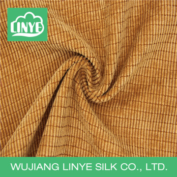 cheap 11w poly corduroy fabric for seat cover and curtain
