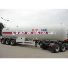 3 Axles LPG Tank Trailer 60m3 Capacity Tank Trailer Semi-trailer lpg tank truck trailer