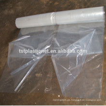 Invernaderos agropecuarios solares de una sola capa Tipo de película plástica transparente para invernadero