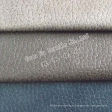 Polyester gaufré rideau de velours Suede / canapé tissu (G69-36)