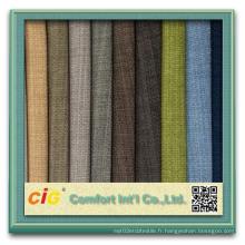 Tissu en polyester pour canapé