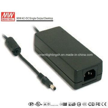 Mean Well 90W AC-DC Desktop Power Supply