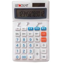 Calculadora de impuestos japonés de 12 dígitos con barra de selección de impuestos opcional de 8% / 10% (LC227T-JP)