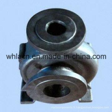 Vanne en acier inoxydable à coulée de précision (usinage CNC)