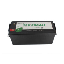 Polinovel AF 12 Volt Lithium Ion 12v 200ah Lifepo4 Battery For Solar System RV Boat