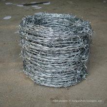 Galvanisé Double Twist Barbed Wire