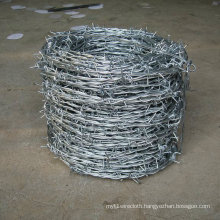 Galvanized Double Twist Barbed Wire