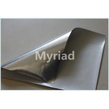 Tejido con película aislante de aluminio revestido de aluminio