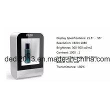 Pantalla LCD transparente capacitiva capacitiva del producto más popular 2017 de la pantalla transparente de China