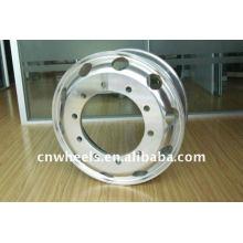 Rueda de aleación de aluminio forjado 22.5 * 8.25