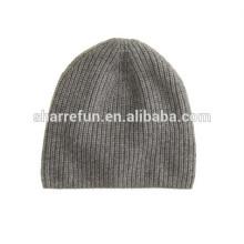 Conception de mode Chine chapeau de bonnet de cachemire fabricant