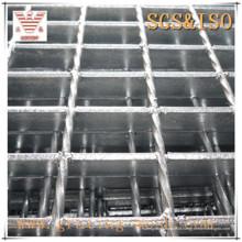 Grade de aço plano com barra fechada galvanizada