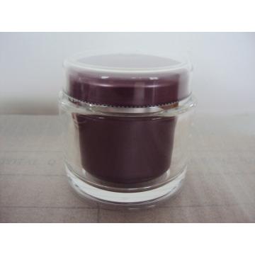 200g Round Clear Jar PMMA Jar Luxury Cosmetic Jar