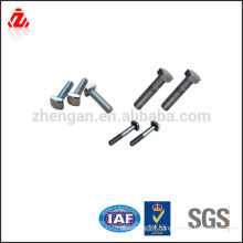 stainless steel square thread bolt and nut