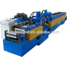 Austauschbare C / Z-Pfettenformmaschine