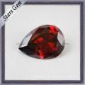 Красивый драгоценный камень Каменный циркон грушевидной формы