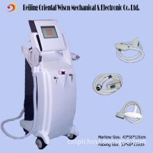 3 Handles E-Light IPL ND YAG Laser Bipolar RF Body Shaping Machine