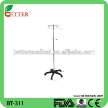 Support de perfusion d'hôpital type IV Pole stand