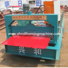 Профилегибочная машина для производства стеновых панелей из цветной стали