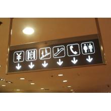 Señales de directorio de centros comerciales con LED