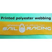 sangle en polyester imprimée et ruban de polyester