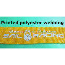 printed polyester webbing & polyester tape