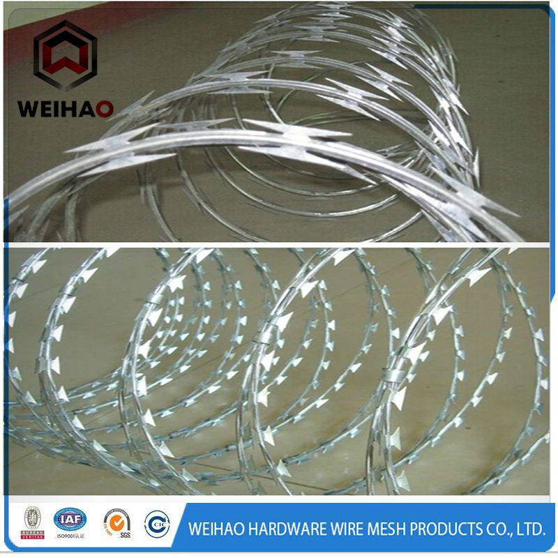 razor barbed wire oF