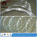 Stainless galvanized razor barbed wire for prison