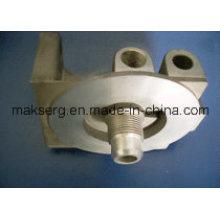 Impulsor de piezas mecanizadas de fundición a presión de precisión