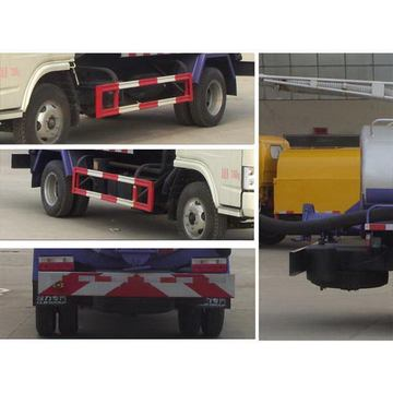 DONGFENG 5CBM Vacuum Fecal Suction Truck