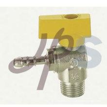 латунь газа шаровой клапан