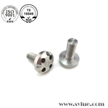 Pièces de rotation de précision en aluminium de haute qualité