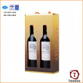 High Quality Cardboard Carrier Wine Gift Box