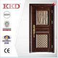 2015 neue Design hochwertige Stahltür KKD-911 mit Aluminium-Finish für Tür-Design